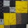 Detail of large quilt (200cm x 200cm)