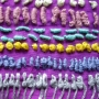 French knots and bullion knots