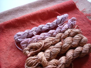 Out of the dyepot: madder