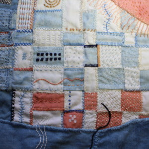 Woven cloth sample