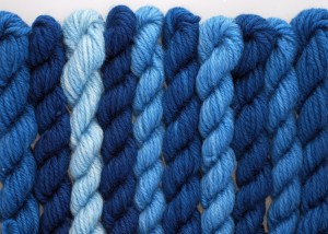 Natural dyes - indigo