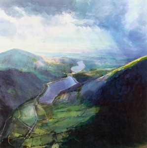 David Prentice: Above Llanberis Lake