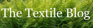 The textile blog header