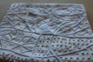 Mountmellick whitework close-up