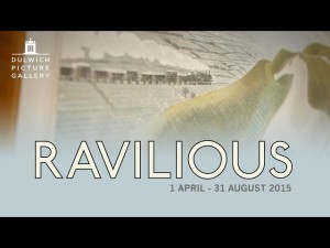 Ravilious paintings at Dulwich