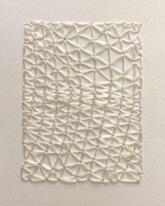 Whitework on paper