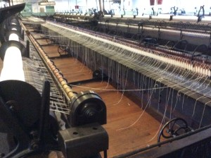 Helmshore mill spinning mule